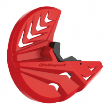 FRONT DISC + BOTTOM FORK PROTECTOR GAS GAS EC250-300 09-20 RED